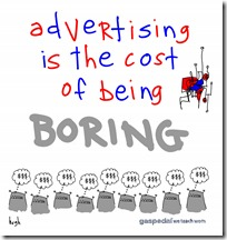 Hugh Macleod Cost Of Being Boring
