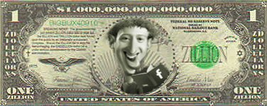 Zucker Dollar Bill